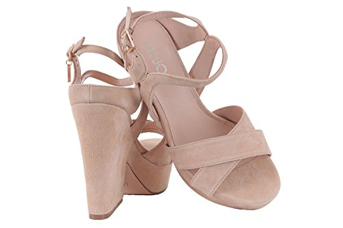 Cicogna Scarpa Sandalo 118 Liu Jo Donna Wedge Camel FRqURXH