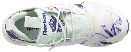 Reebok Furylite Graphic - Zapatillas Mujer Blanco / Vinca
