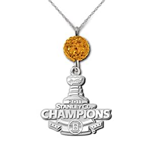 NHL Boston Bruins 2011 Stanley Cup Champions Ovation Necklace