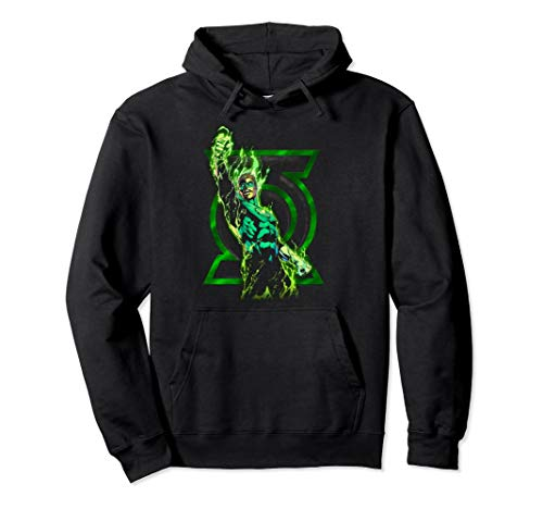 (Green Lantern Fully Charged Lantern Pullover)