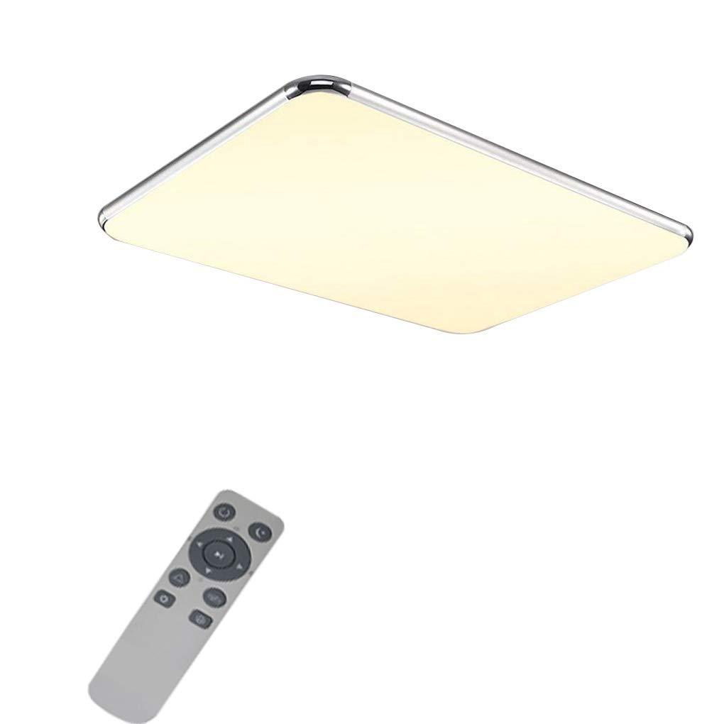 72w YESDA 72W LED Deckenleuchte Deckenlampe Badlampe Leuchte mit Fernbedienung Schlafzimmer Dimmbar