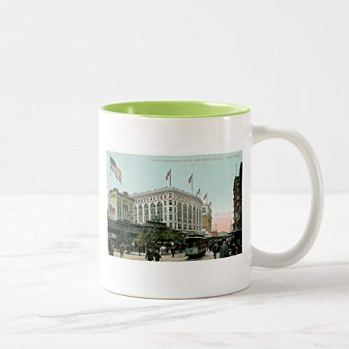Zazzle Macy's Department Store, New York Coffee Mug, Lime Two-Tone Mug 11 - Macys New Store York