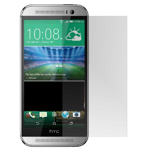 Jumblebay Scratch Protection and Shatter Resistant Tempered Glass Screen Protector for HTC ONE M8