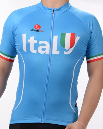Cup Champions Italy World - Men's Breathable Short Sleeve Cycling Jersey FIFA World Cup Italy Style