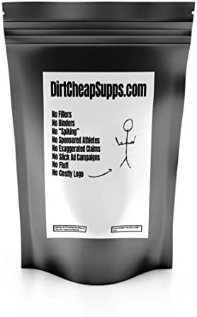 DirtCheapSupps Micellar Casein 1lb. Unflavored