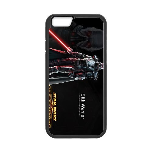 Star Wars The Old Republic 1 coque iPhone 6 4.7 Inch cellulaire cas coque de téléphone cas téléphone cellulaire noir couvercle EEECBCAAN00367