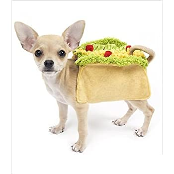 Taco Deluxe Costume for Dogs by Puppe Love (Size 6 (20.5  - 23.25  sc 1 st  Amazon.com & Amazon.com: Rubieu0027s Pet Costume Small Taco: Pet Supplies
