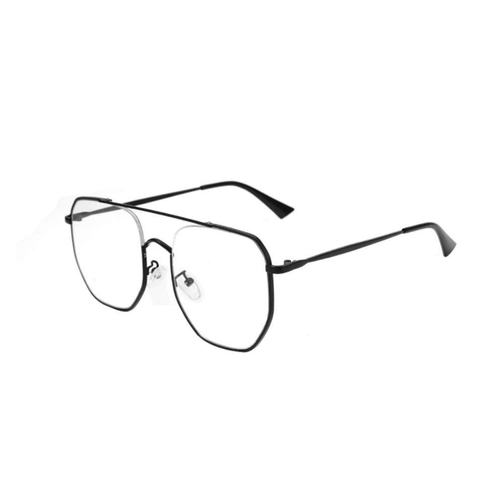 Anti-blue radiation glasses personality big box flat mirror no degree girls