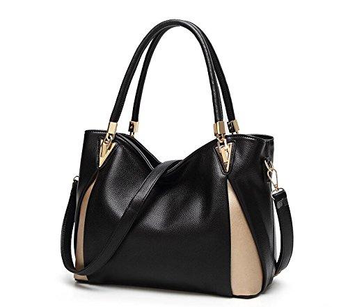 black Mode Main Grande De De Main À Fashion Ladies Nouveau Sac Gueules Capacité Sac Meaeo Sac À nI8x1aw7qf