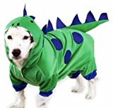 Casual Canine Polyester Dogzilla Dinosaur Dog Costume, X-Small, 8-Inch