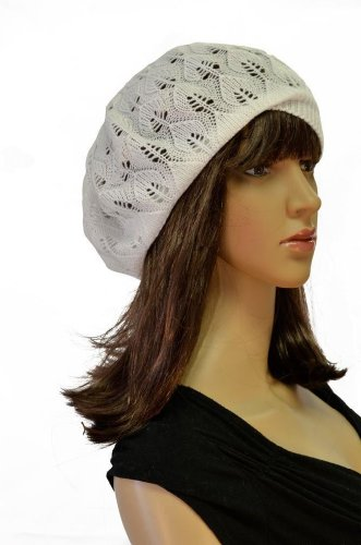 Women's Light Beret Knitted Style for Spring Summer Fall 137HB