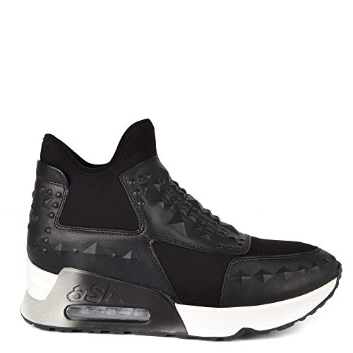 Neoprene Lazer Black Studs Ash Footwear Trainer Black AqwpU