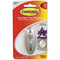 MMM17051BN - Command Communications, Inc Decorative Hooks