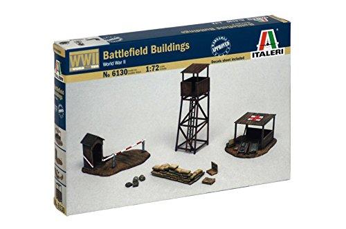 Italeri 6130 Battlefield Buildings Scala 1:72