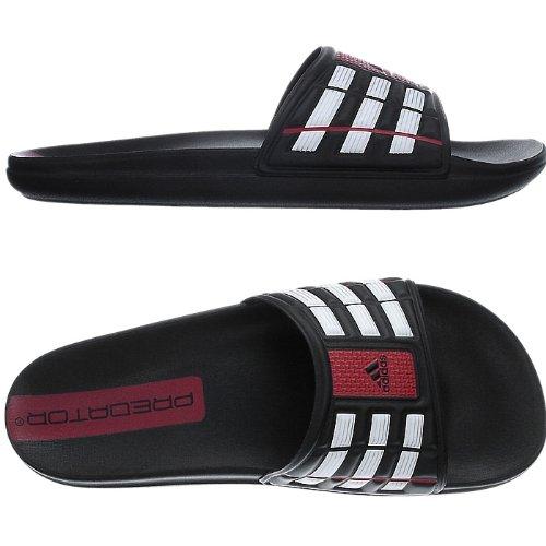 big sale d3603 bec64 adidas Cancao Predator G02470 Herren Badelatschen Schwarz 55 13  Amazon.de Schuhe  Handtaschen