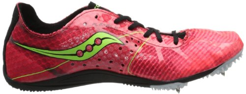 Saucony Mujer Endorphin LD4pista zapatos Coral/Black/Citron
