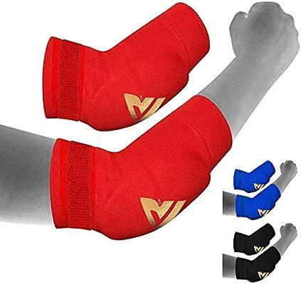 RDX Boxeo MMA Codera Baloncesto Soporte Vendaje Codo Protectors Venda: Amazon.es: Deportes y aire libre
