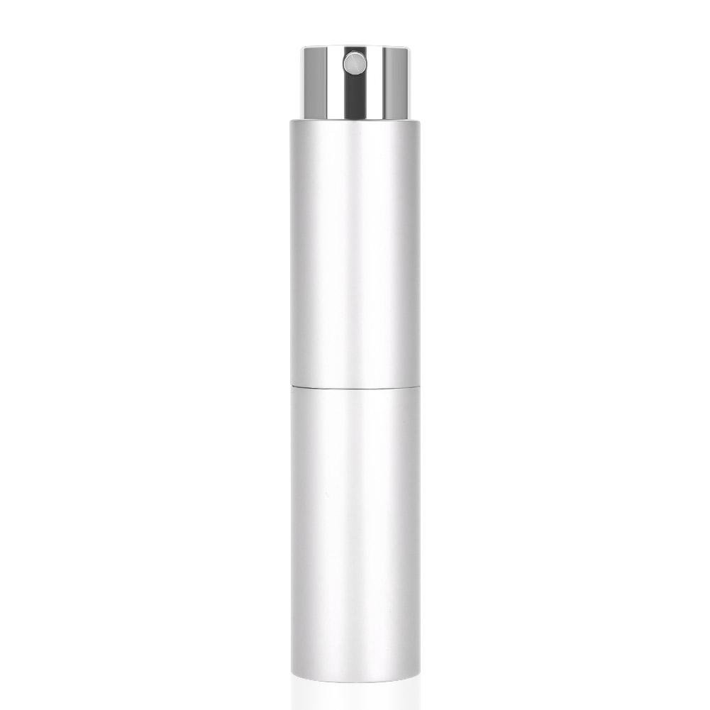3pcs Spray Bottles for Essential Oil Aromatherapy Perfume Glass Container Mist Sprayer with Aluminum Case(Black) Sonew