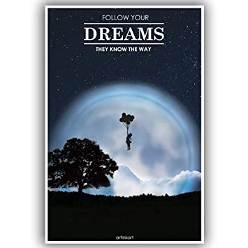 Poster Build Your Dreams Poster For Room Motivational Poster Poster