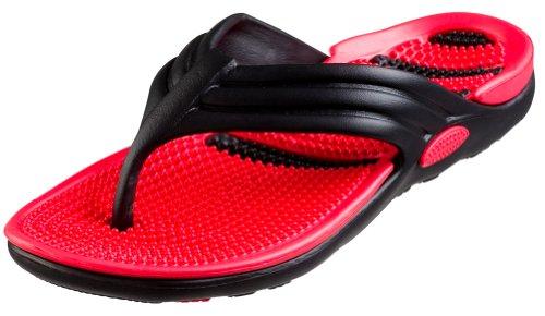 Bertelli New Mens Thong Beach Sandal Slippers in 4 Bright Fun Colors (New Slipper Sandal Flip Flop)