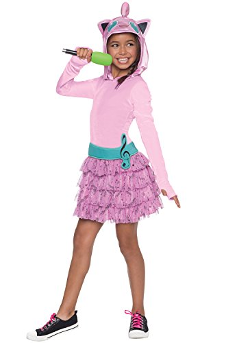 Rubie's Costume Pokemon Jigglypuff Child Hooded Costume Dress Costume, Large]()