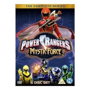 Power Rangers: Mystic Force Complete Series DVD: Amazon co