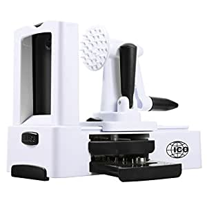 ICO Professional Vegetable Spiralizer and Spaghetti Maker