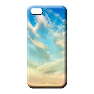 iphone 5 5s Proof Hot High Grade Cases phone back shells sky blue air white cloud