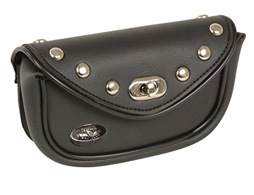 (Milwaukee Performance MP8700-BLK-PCS Black Small Studded PVC Windshield Bag)