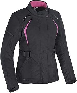 Oxford TW18210210 Dakota 2.0 Ladies Motorcycle Jacket 10 Black Pink