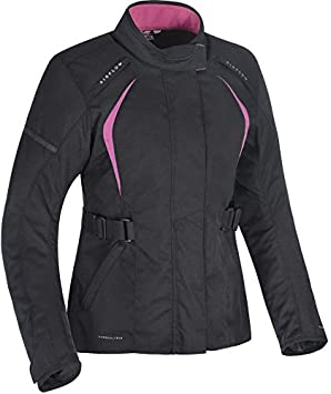 Oxford Dakota 2.0 - Chaqueta de moto para mujer, color negro ...