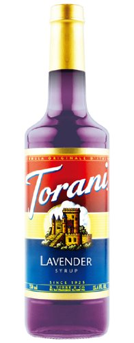 - Torani Lavender Syrup, 750 ml Bottle