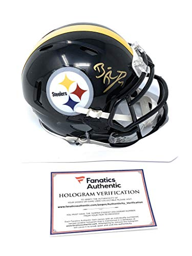 abe0edc58c3 Ben Roethlisberger Pittsburgh Steelers Signed Autograph Speed Mini Helmet  Fanatics Authentic Certified