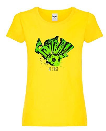 Camiseta de fútbol para mujer y mujer