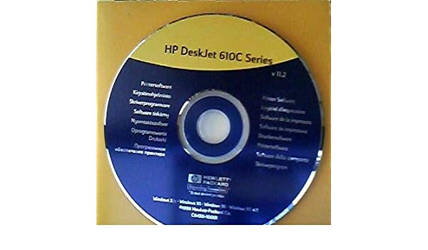HP DESKJET 610C SERIES DRIVERS UPDATE