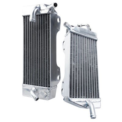 Tusk Aluminum Radiator Set - Fits: Honda CRF450R 2005-2008 by Tusk