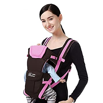 e54b1290954 Bethbear Adjustable 4 Positions Carrier 3D Backpack Pouch Bag Wrap Soft  Structured Ergonomic Sling Front Back