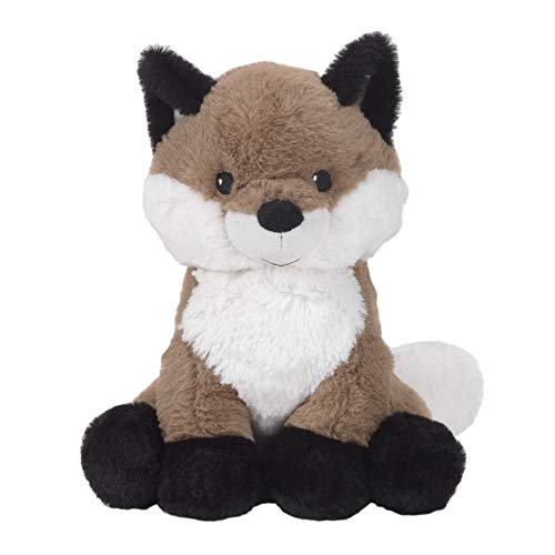 Forest Brown/White Plush Fox Stuffed Animal - Knox ()