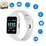 Smartwatch Touch Screen, JACSSO Generation Bluetooth Smart Watch Colorful UI, Smart Watches Phone Compatible Android Phones Samsung LG Men Women