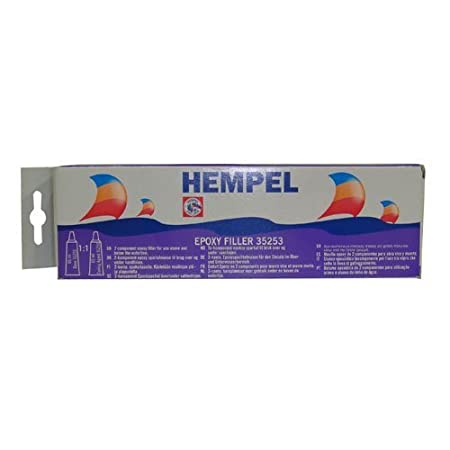Hempel Marine Grade Epoxy Filler - 130ml: Amazon co uk: DIY & Tools