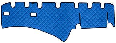 Blu AutoCommerse colore Tappetino per cruscotto in pelle PU per SCANIA R 2004-2016 Trucks LHD