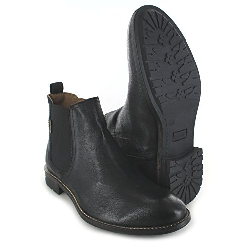Boots226769 Fashion 872 chelsea Black FB Uomo Chelsea Stivali Huntington q54n6d
