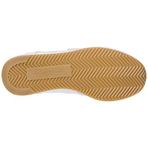 Model Donna Philippe Bianco Nuove Camoscio Sneakers Tropez Scarpe qawB17wv