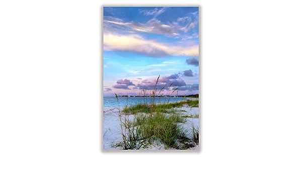 Modern Wall Art Home Decor Popular Right Now. Caribbean Blue The Bahamas CANVAS PRINT Beach Landscape Photo Canvas Prints