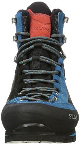 Coral Botas Azul 0938 Hot GTX SALEWA de Monta Negro Black a Mujer Para WS Crow tq6ZZOv