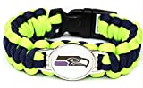 EXO Team Bracelet Braided Football Seahawks Paracord Bracelet