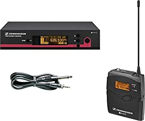 Sennheiser ew 172 G3 - Micrófono (Etapa/rendimiento, 25 - 18000 Hz, 30 mW, Inalámbrico, 626 - 668 MHz, 212 x 202 x 43 mm) Negro