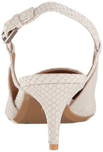 White Calvin Pump Patsi Klein Snake Cut Matte Dress Platinum Women's cYTwYRvIqr