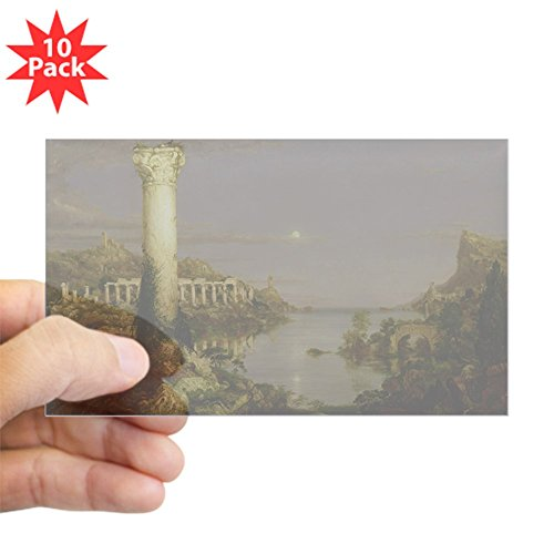 - CafePress - Desolation, 1836 @Oil On Canvasa - Sticker @Rectan - Rectangle Bumper Sticker (10-Pack), Car Decal