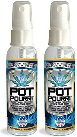 Pot Pourri - Spray purificador de aire sin aerosol anticannabis ...